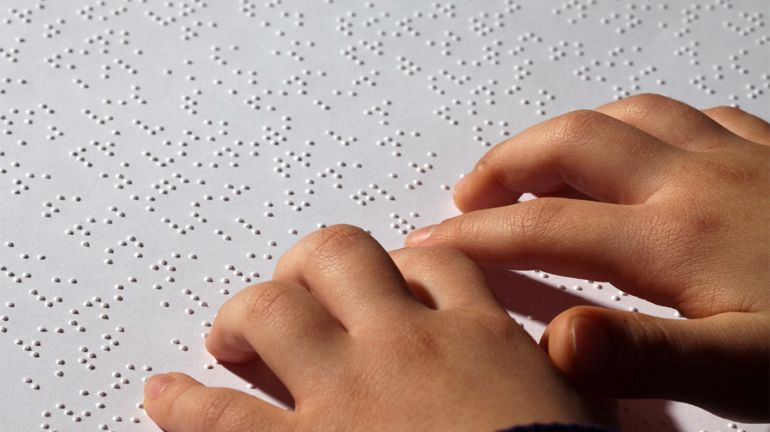 photo page braille